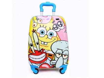 Dětský kufřík na kolečkách - Spongebob