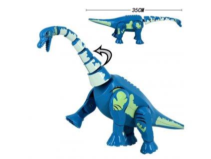 Jurský Park dinosaurus k Lego - Brontosaurus 35 cm