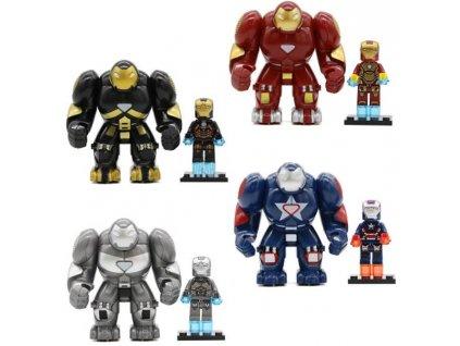 Figurky Iron Man k Lego 8 ks