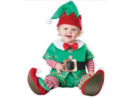 Dětský kostým Vánoční Elf