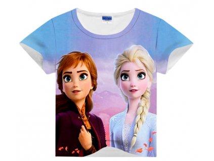 Tričko Ledové království - Elsa a Anna