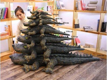 Plyšák Krokodýl - více velikostí
