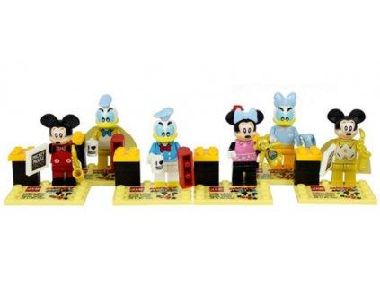 Figurky Mickey Mouse k Lego 6 ks