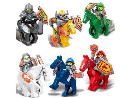 Figurky Rytíři k Lego 6 ks