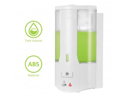 Bezdotykový dávkovač mýdla/dezinfekce - 400ml