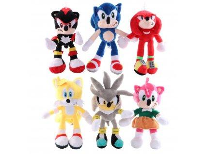 Plyšák Sonic - více variant