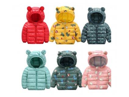 Zimní dětská bunda - více variant