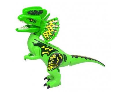 Jurský Park dinosaurus k Lego - Dilophosaurus 30 cm