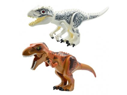 Jurský Park dinosauři k Lego 30 cm 2 ks