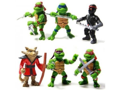 Figurky Želvy Ninja 6 ks