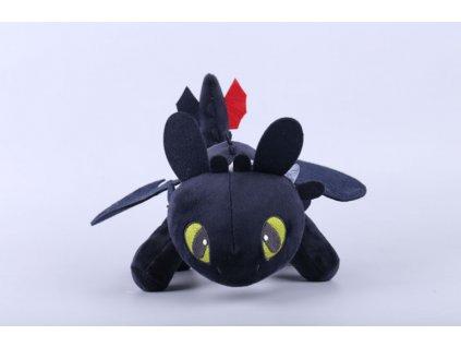Plyšák Bezzubka černý - různé velikosti