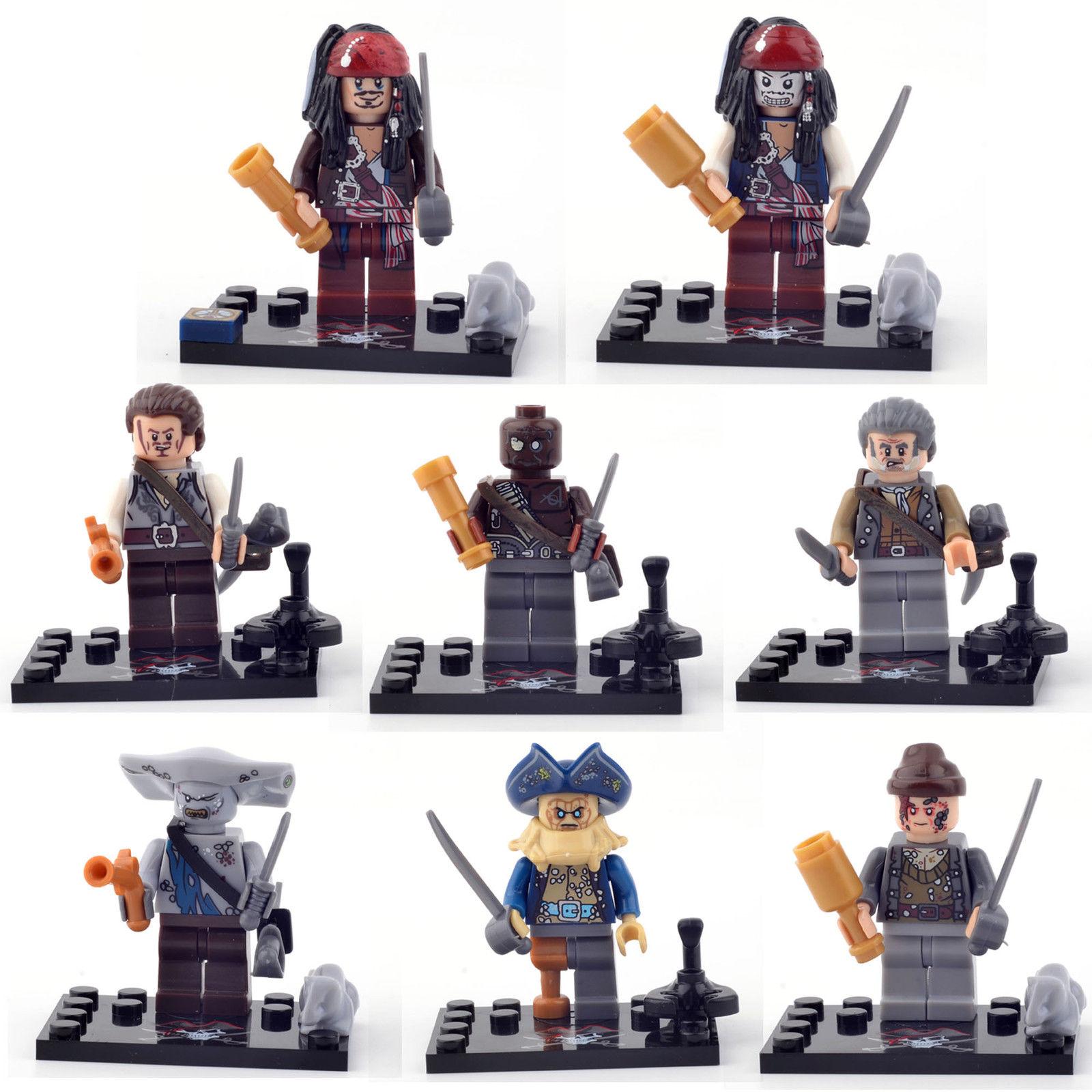 Figurky Piráti z Karibiku k Lego 8 ks