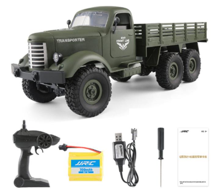 RC vojenský transportér - 2 barvy Barva: Zelená
