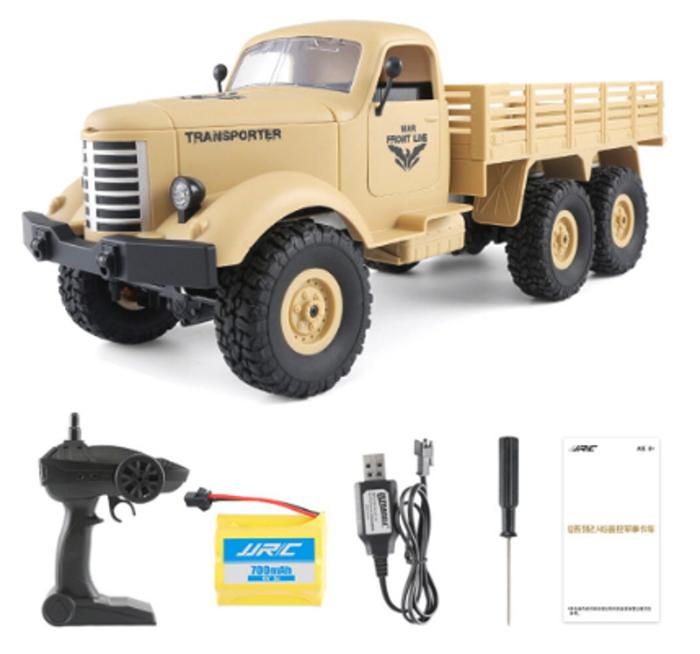RC vojenský transportér - 2 barvy Barva: Žlutá