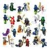Figurky Ninja k Lego 24 ks
