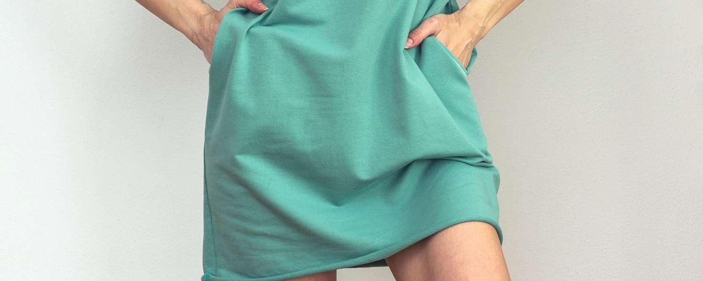 Boyfriend šaty Buddy z organickej bavlny