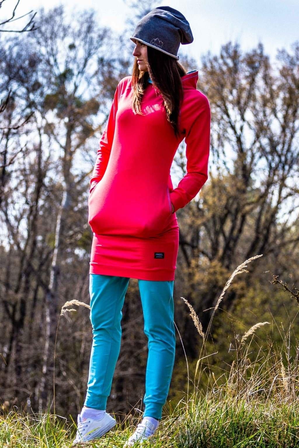 Šaty s kapucňou Coral (4)