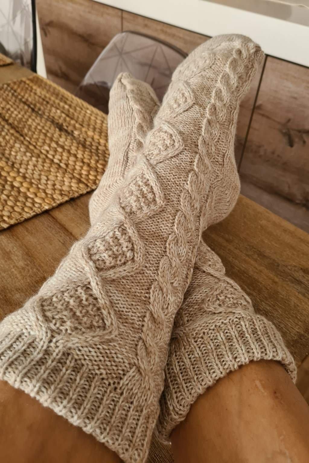 Teplé ponožky Homey (2)