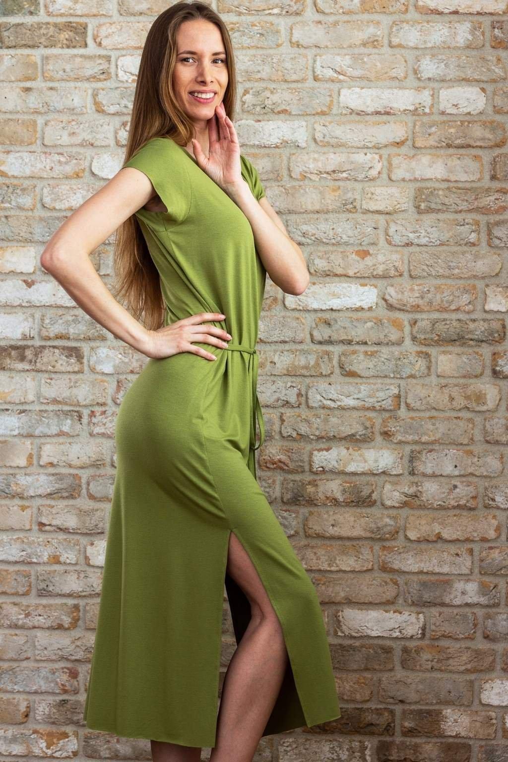 Maxi šaty Linger (4)