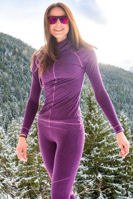 Mikina Purple Snow (6)