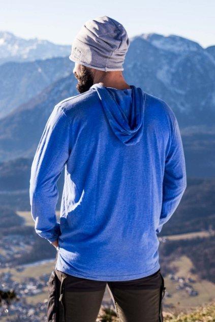 Tričko s dlhým rukávom Blue Echo (2)