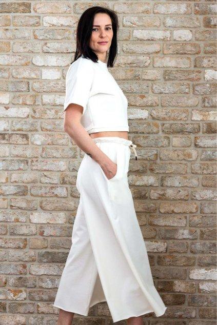 Coco Sweets Set široké nohavice a tričko biele Freel 2021 (5)