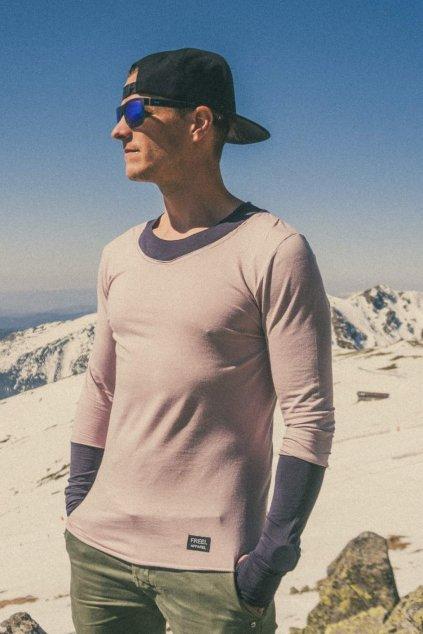 Pánske tričko s dlhým rukávom Skin (2)