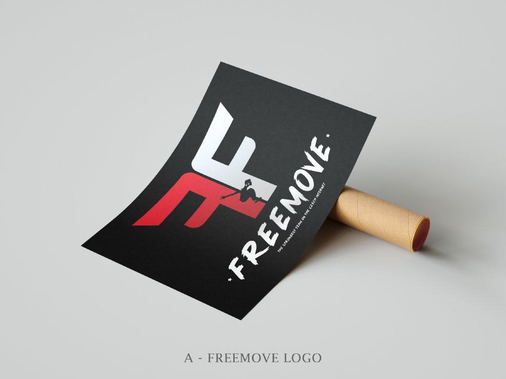 Freemove plakát A3