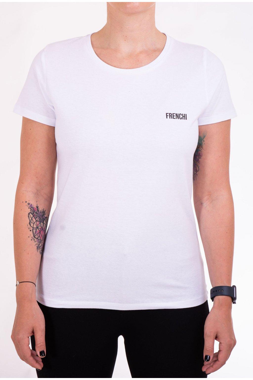 Dámské tričko bílé GeoBack