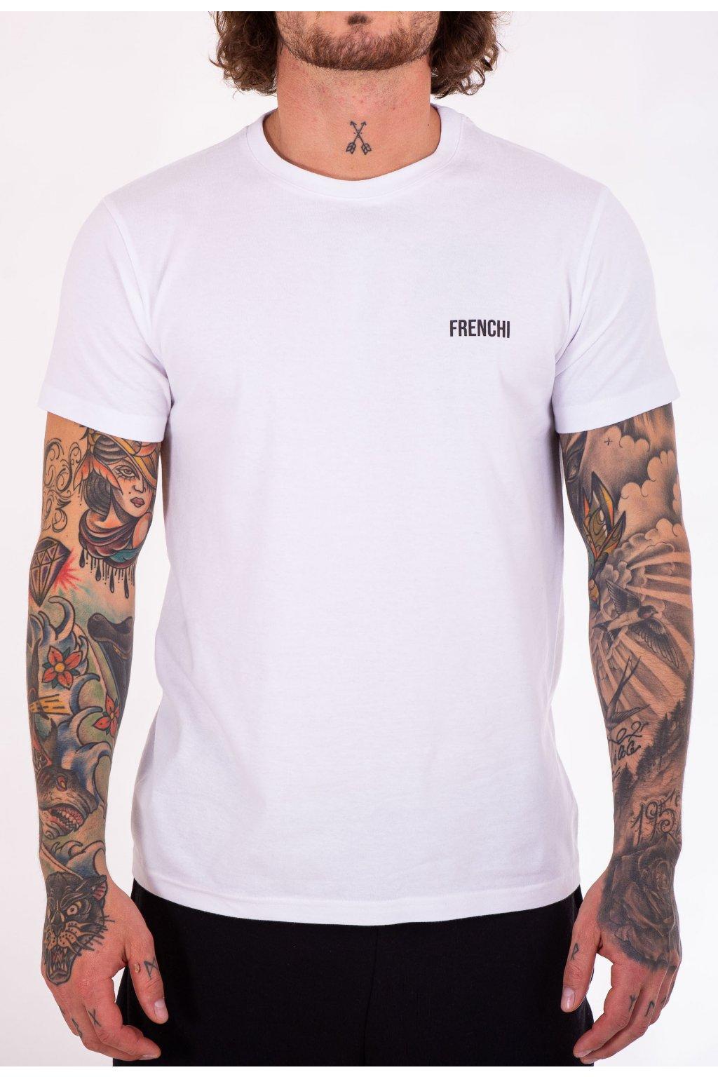 Pánské tričko bílé GeoBack