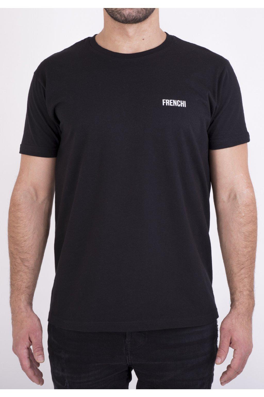 Pánské tričko černé GeoBack