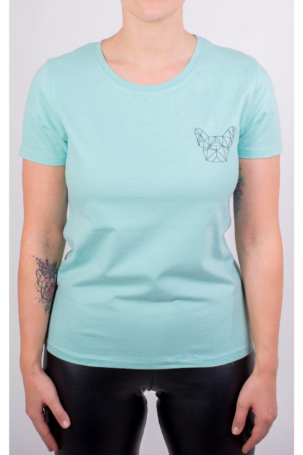 Dámské tričko GeoSmall mint