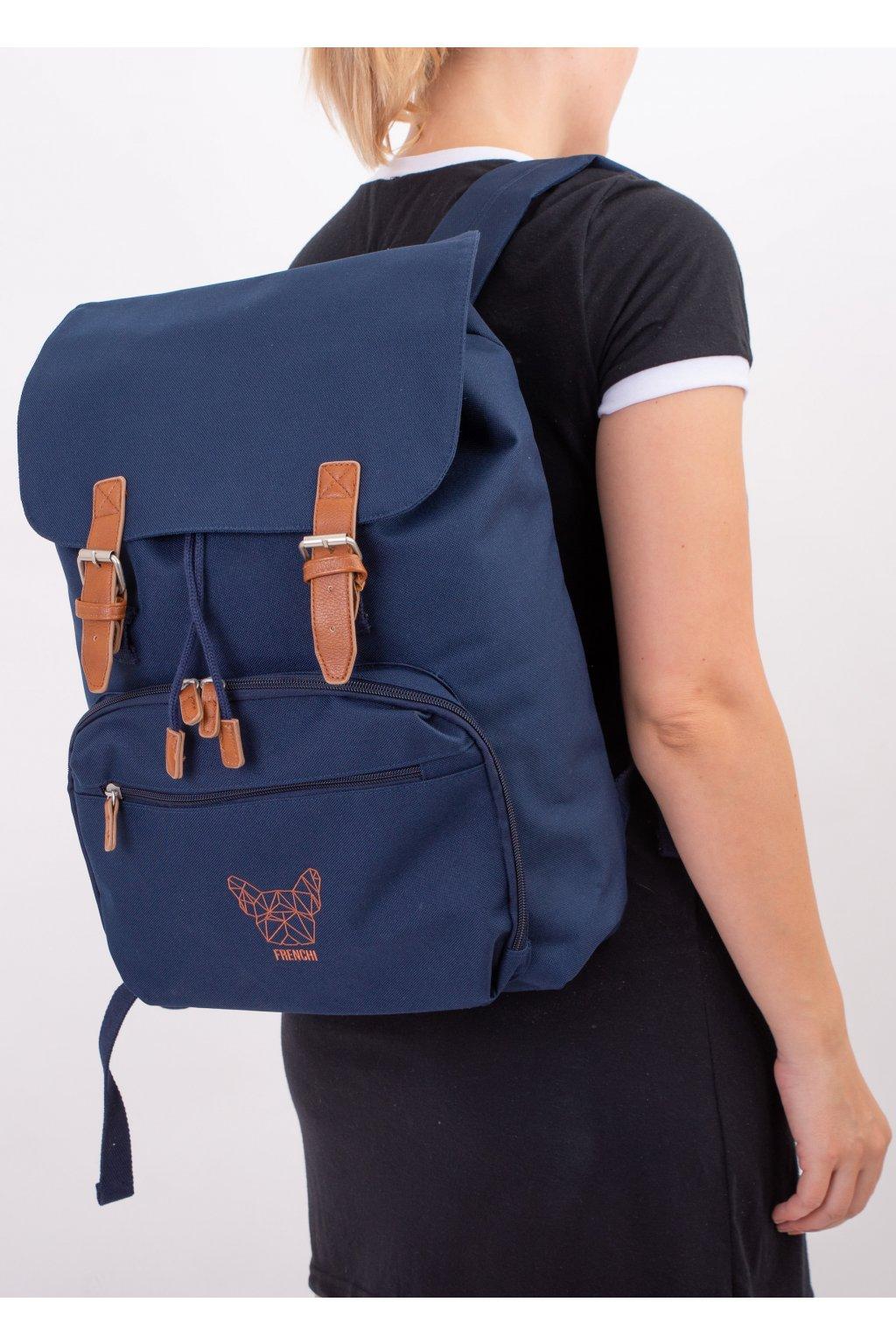 Batoh na notebook tmavě modrý