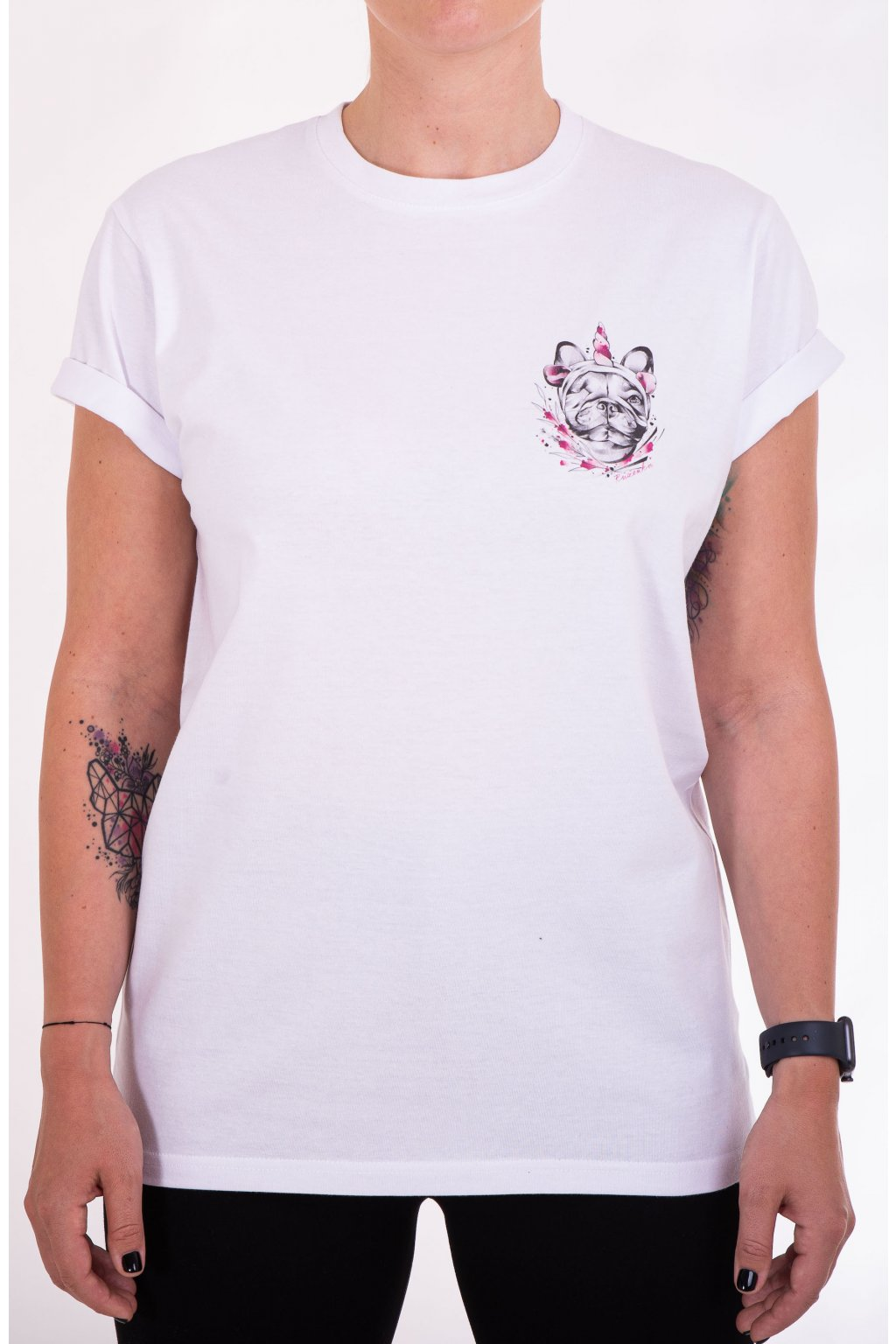 Unisex tričko RŮŽENKA