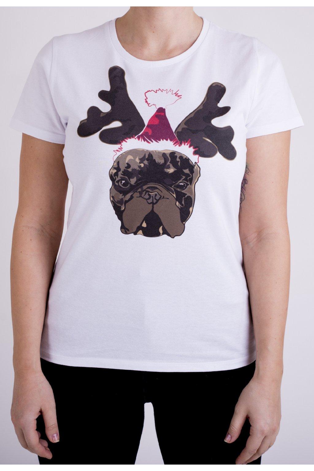 triko vánoční franta