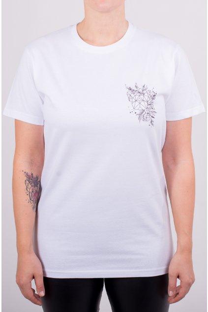 Unisex tričko JARO MINI černobílé