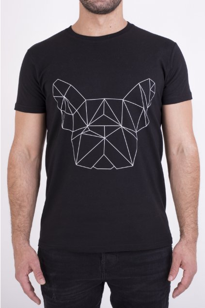 Pánské tričko černé GeoFront