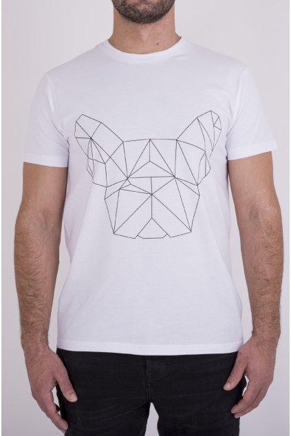 Pánské tričko bílé GeoFront