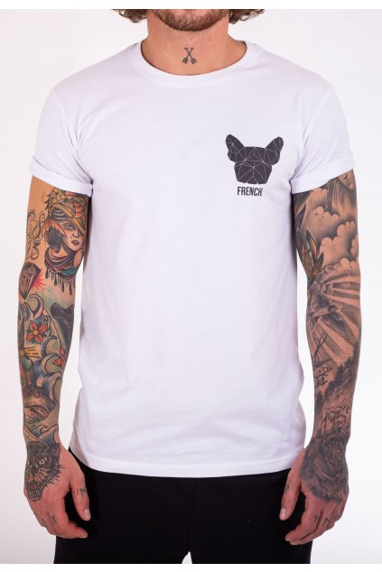 Pánské tričko bílé GeoBlack