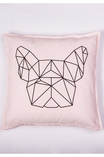 Růžový polštář Classic