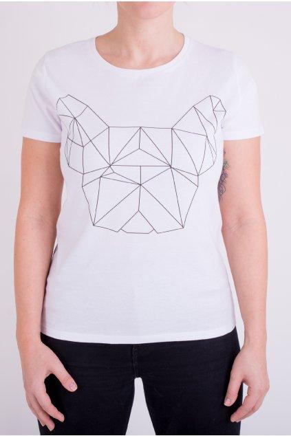 Dámské tričko bílé GeoFront