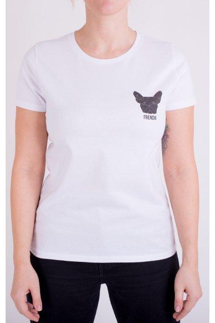 Dámské tričko bílé GeoBlack