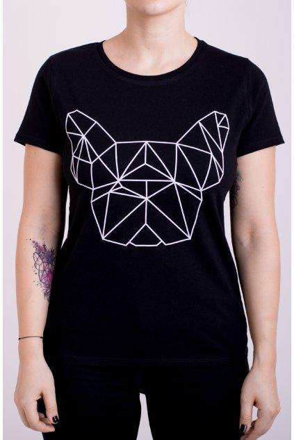 Dámské tričko černé GeoFront