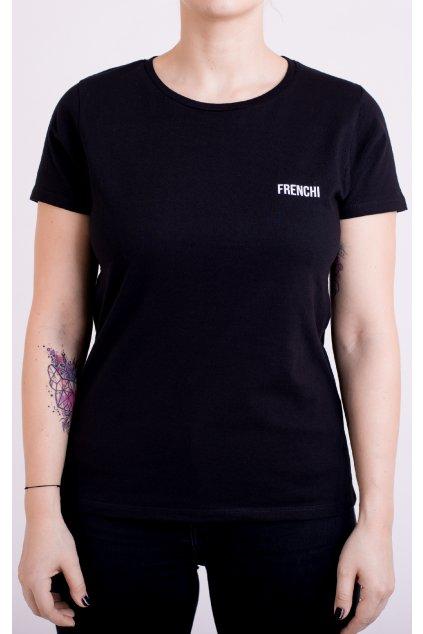 Dámské tričko černé GeoBack
