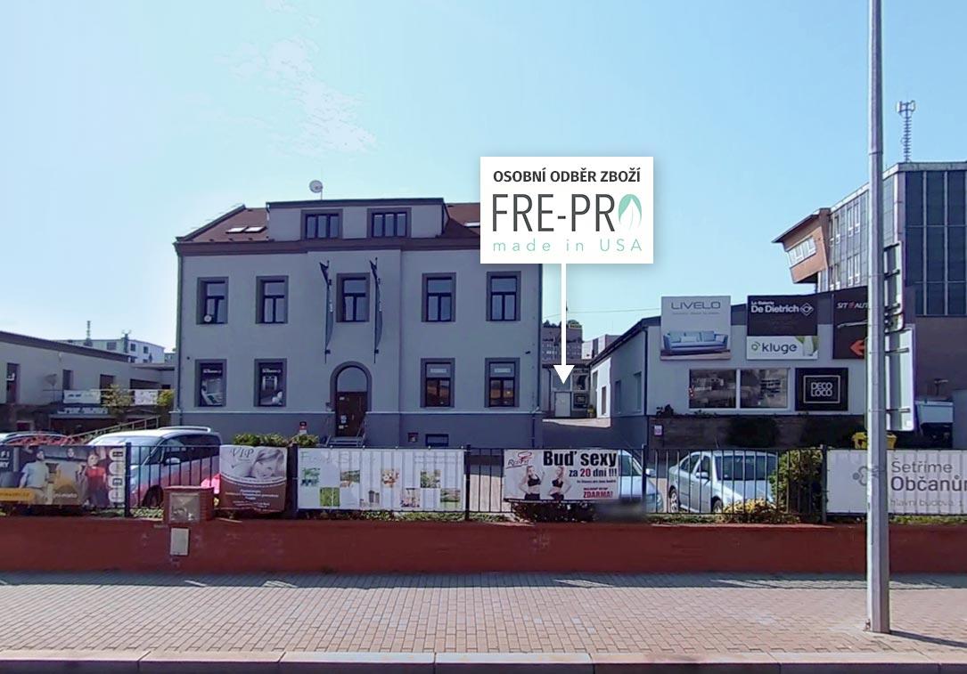 Osobní odběr FrePro