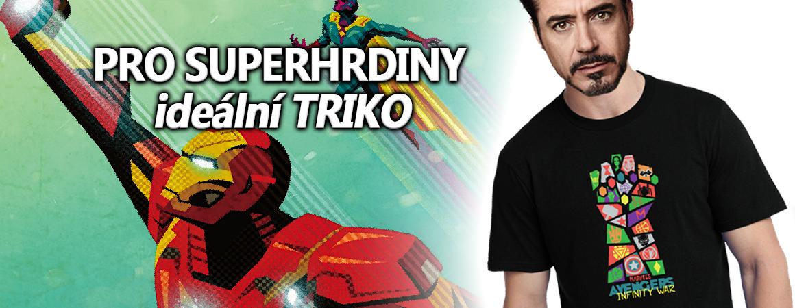 Tričko Avengers Infinity War - Iron man