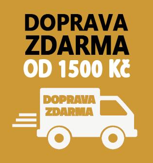 Doprava Zdarma od 1500 Kč