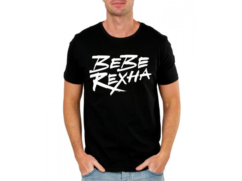 pánské černé tričko Bebe Rexha