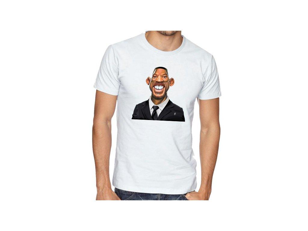 pánské bílé tričko will smith fresh prince