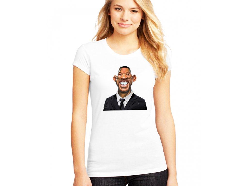 dámské bílé tričko will smith fresh prince